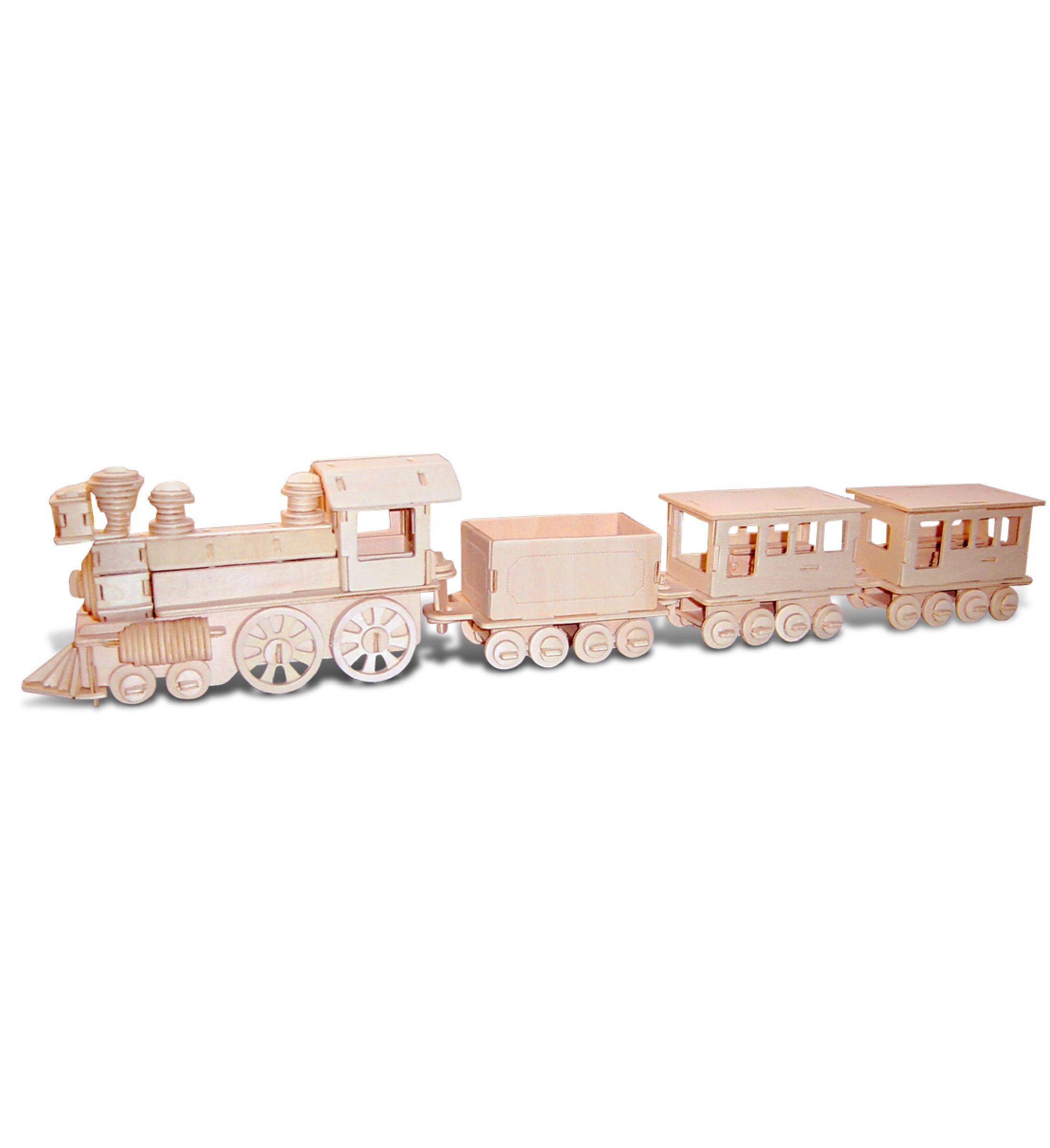 TRAIN - 3D Puzzles