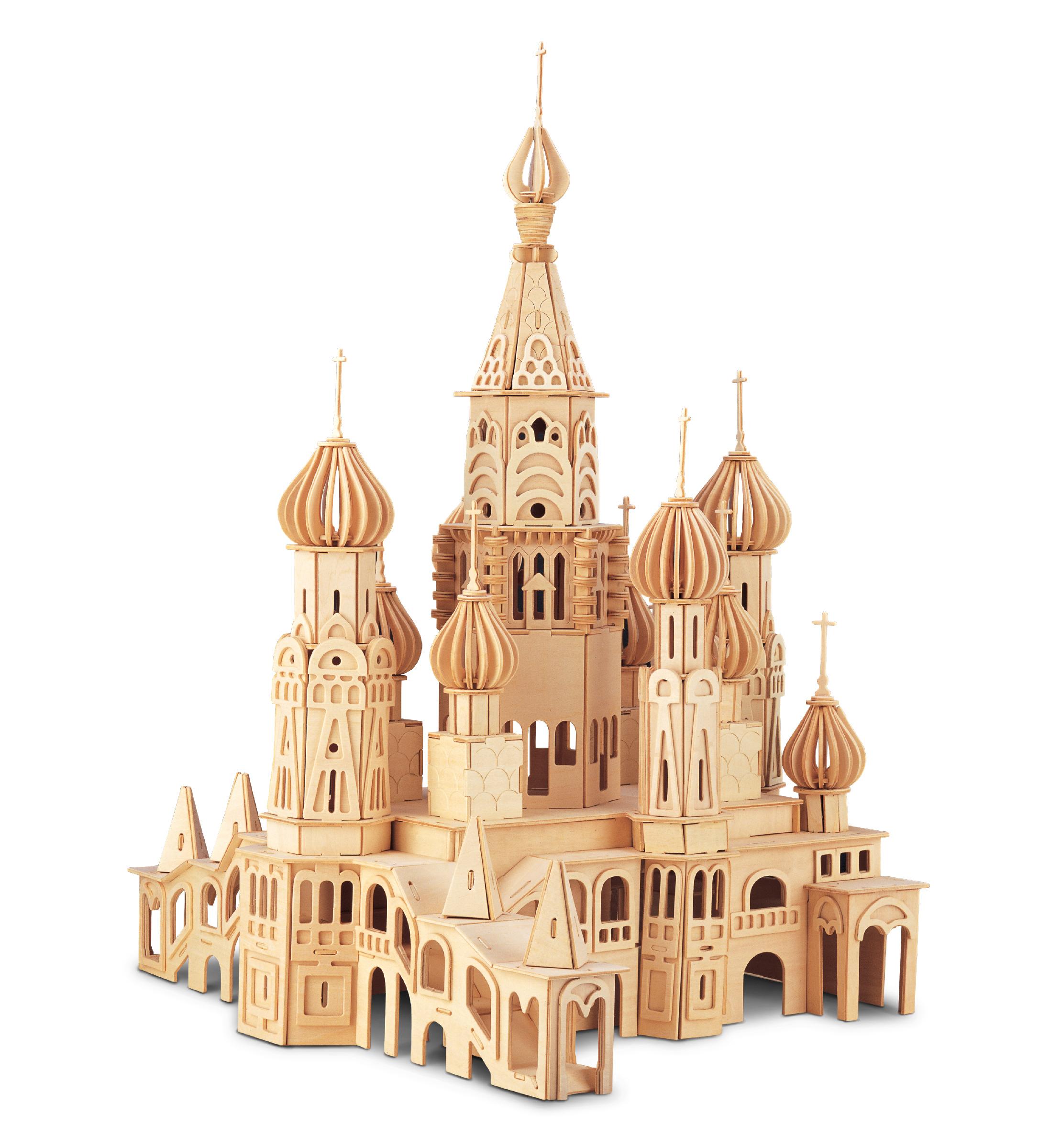 SAINT Petersburg Church - 3D Puzzles