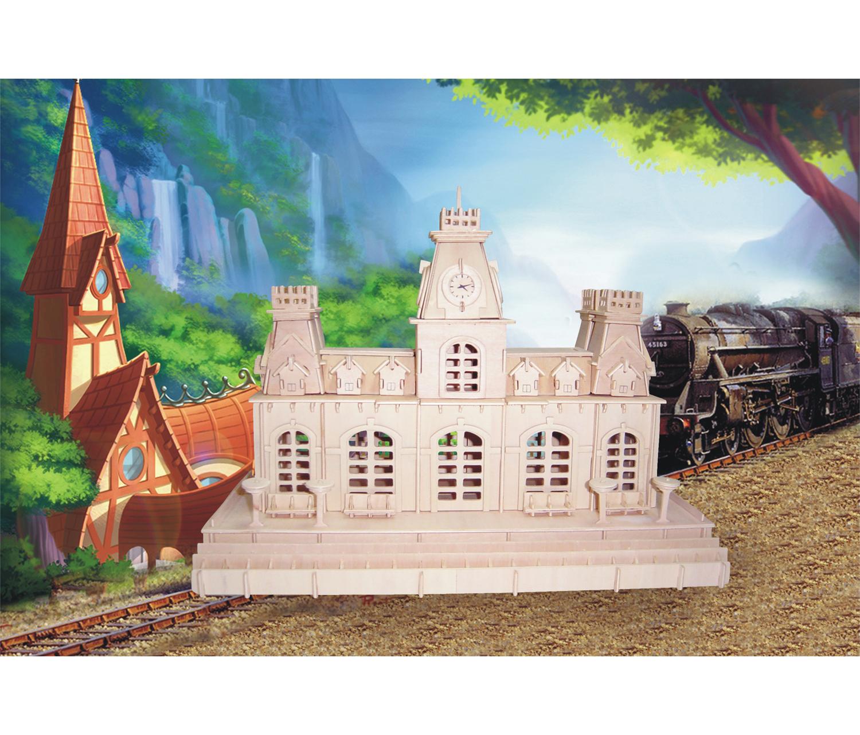TRAIN Station - 3D Puzzles