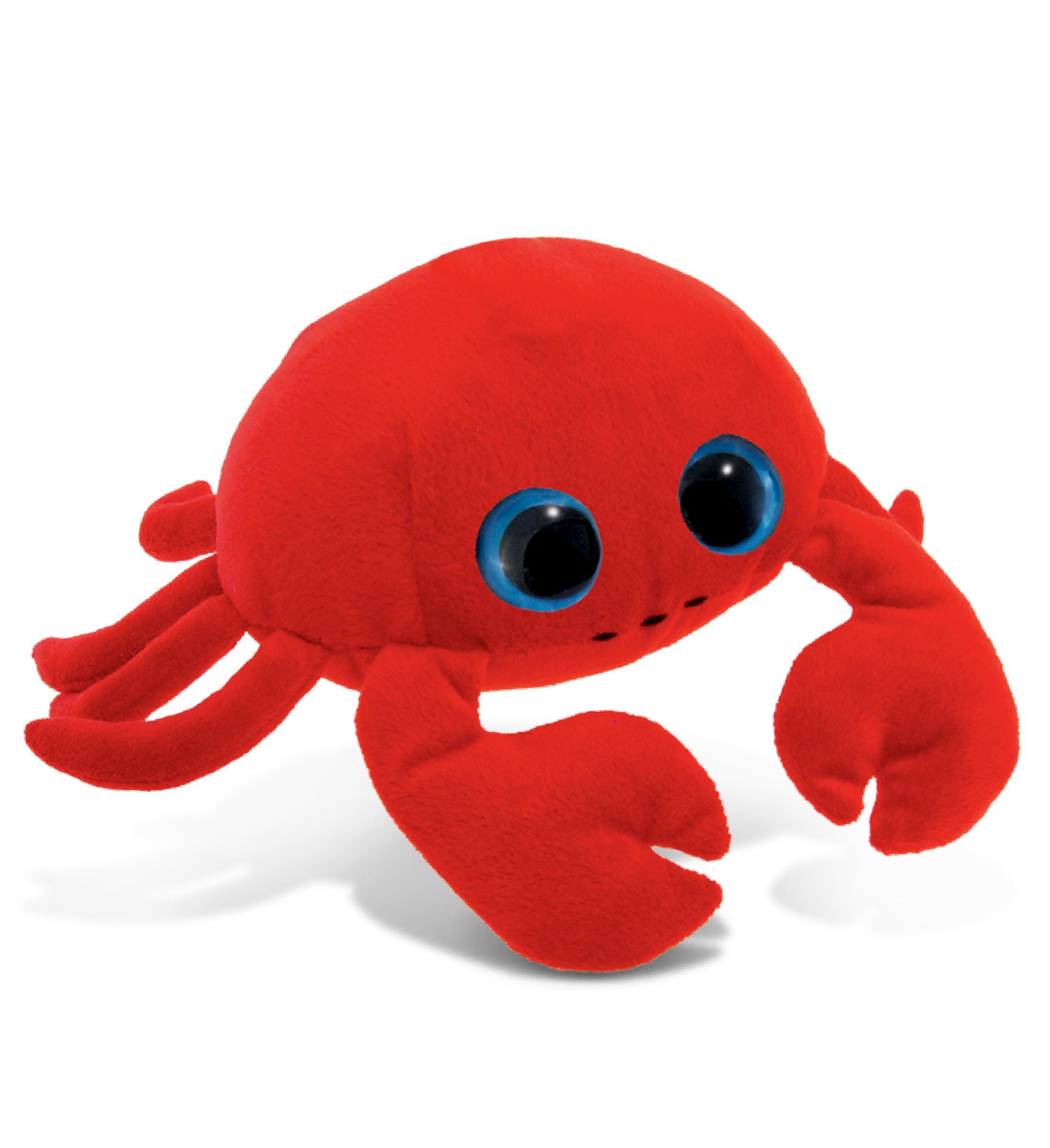 Red Crab - Big Eye 6 Inch Plush