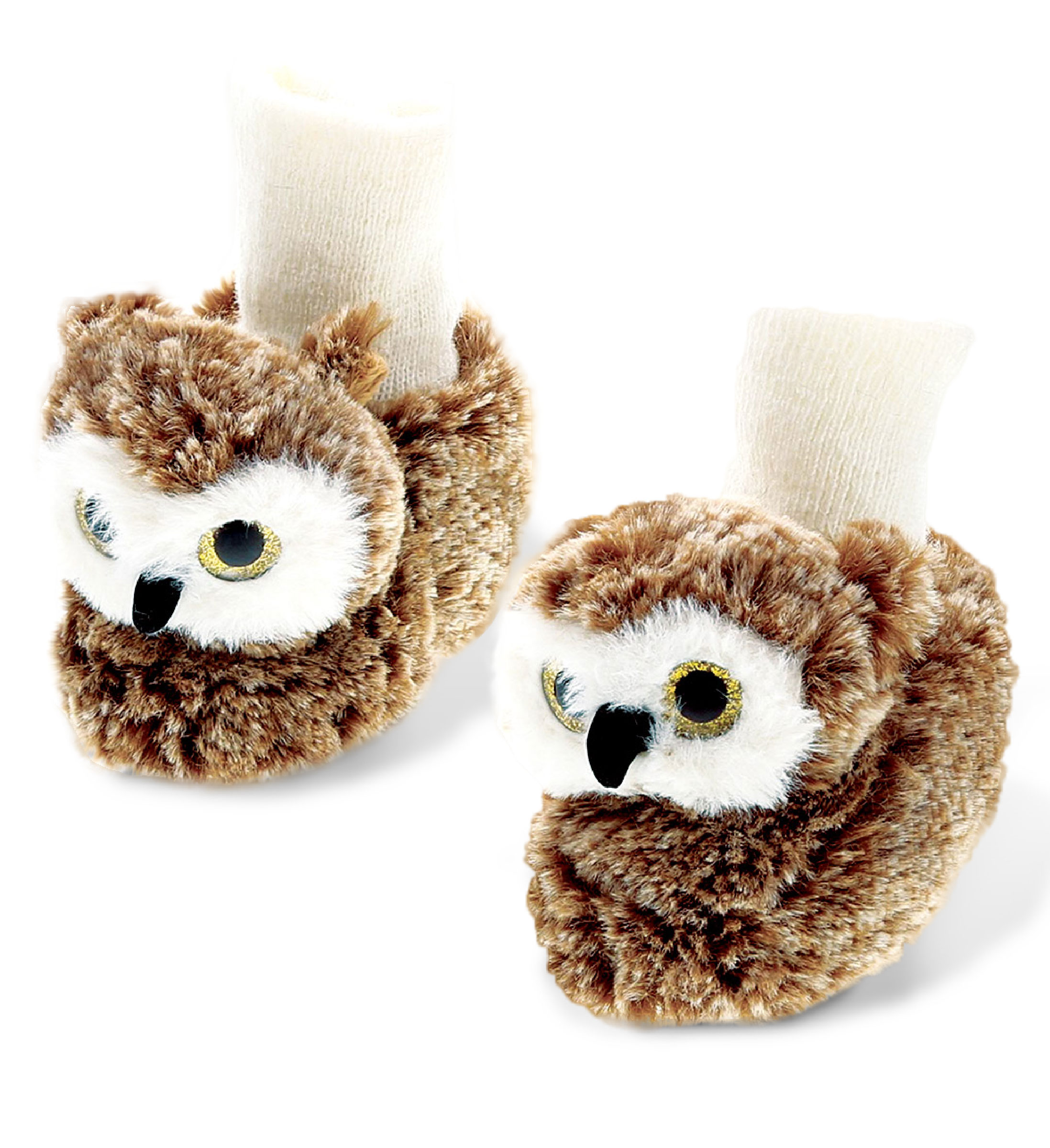 Owl - Super Soft Plush Baby SHOES