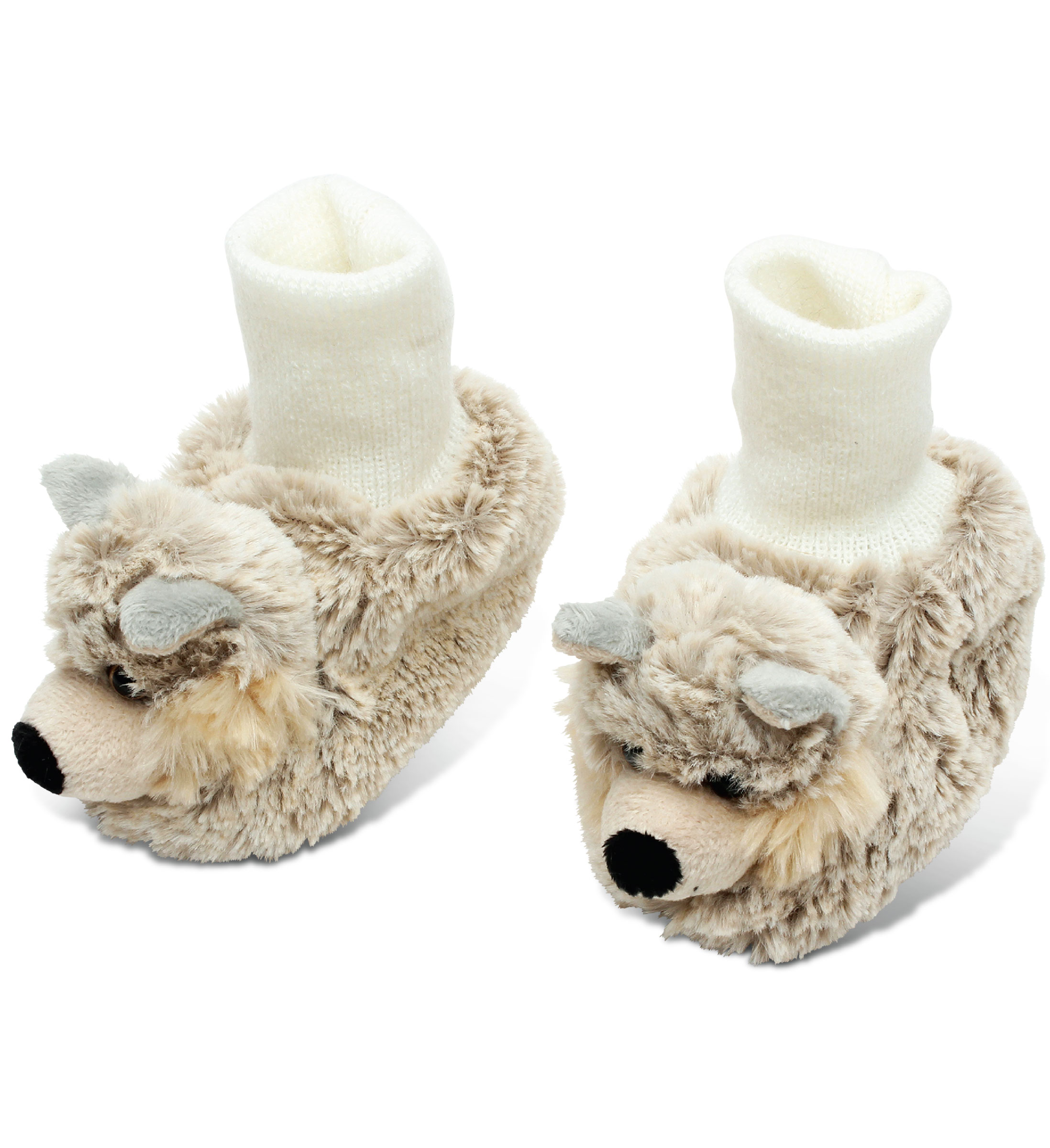 Wolf - Super Soft Plush Baby SHOES