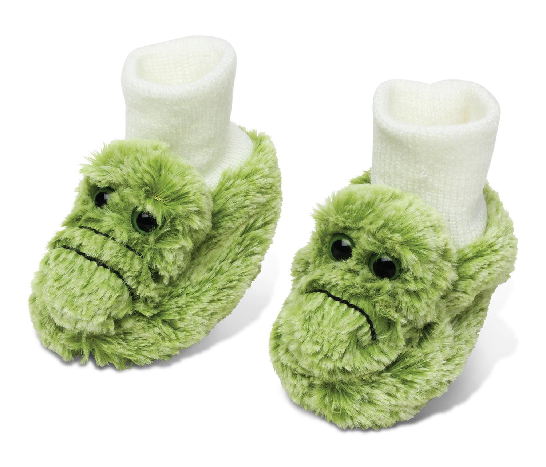 Alligator - Super Soft Plush Baby SHOES