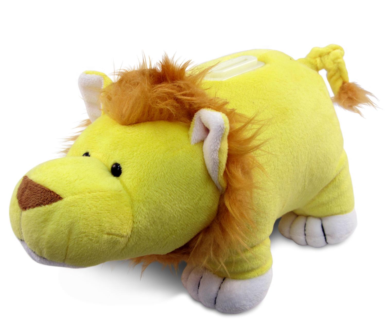 Puzzled Plush Bank Lion