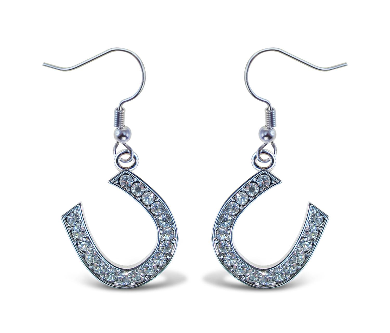 Horse SHOE - Sparkling Earrings