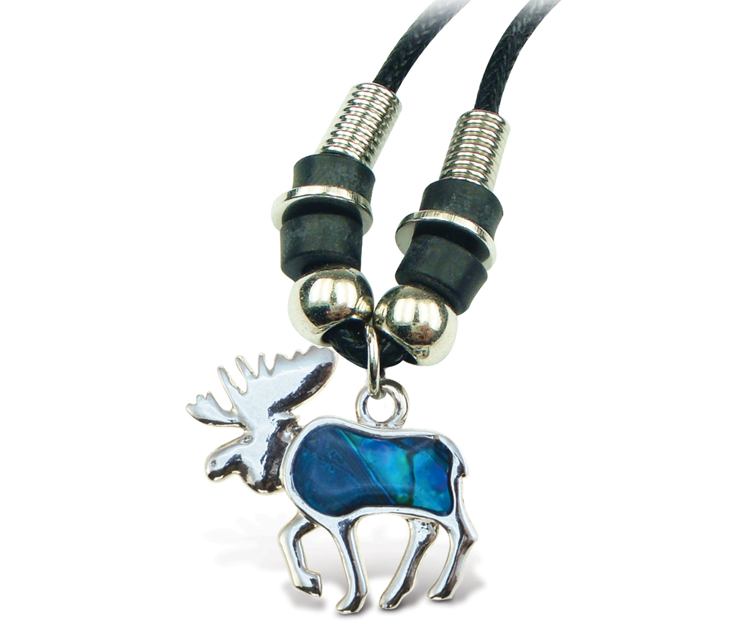 Necklace Wild Style Chain 18 Inch Moose - Aqua JEWELRY