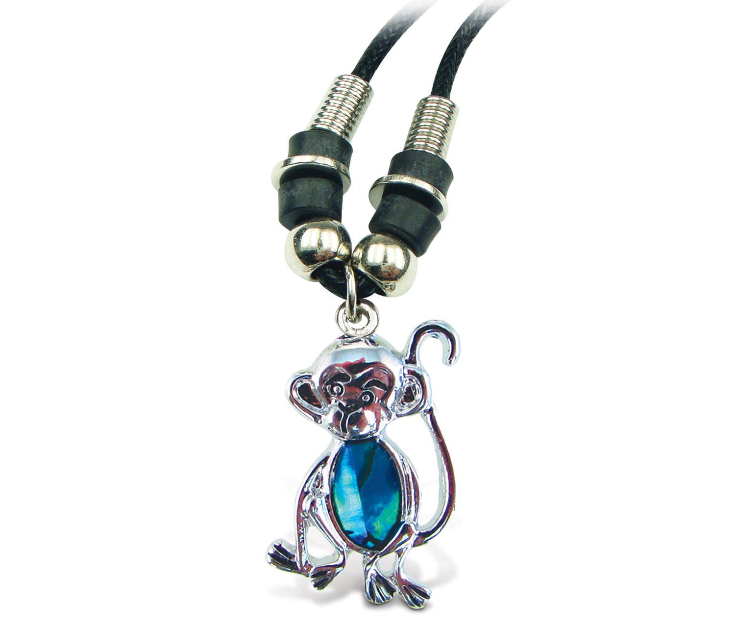 Aqua JEWELRY Necklace Wild Style Chain Monkey