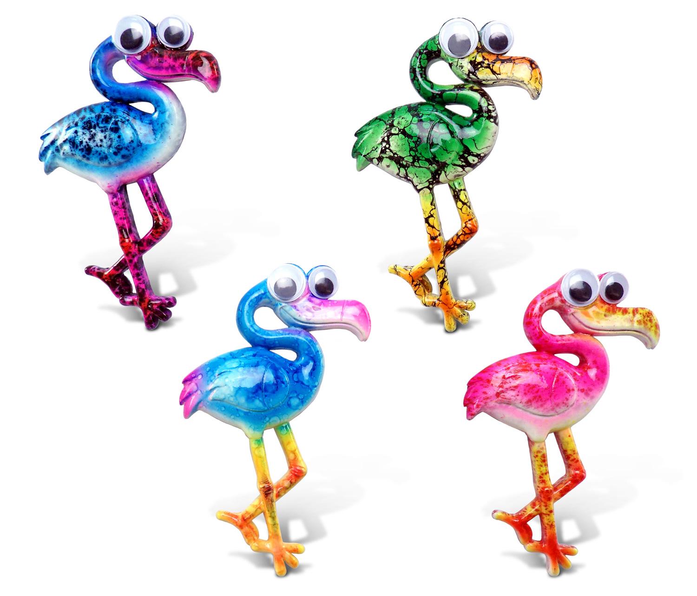 Puzzled Flamingo Animals Refrigerator magnet
