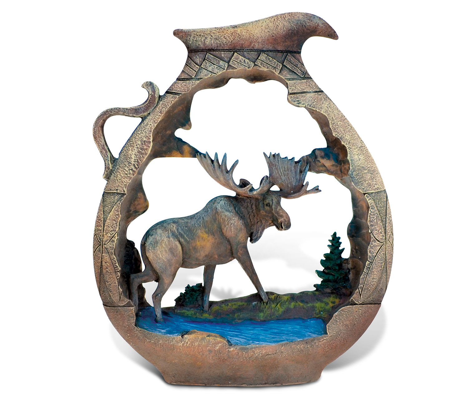 The Wild Native POTTERY Pitchermoose