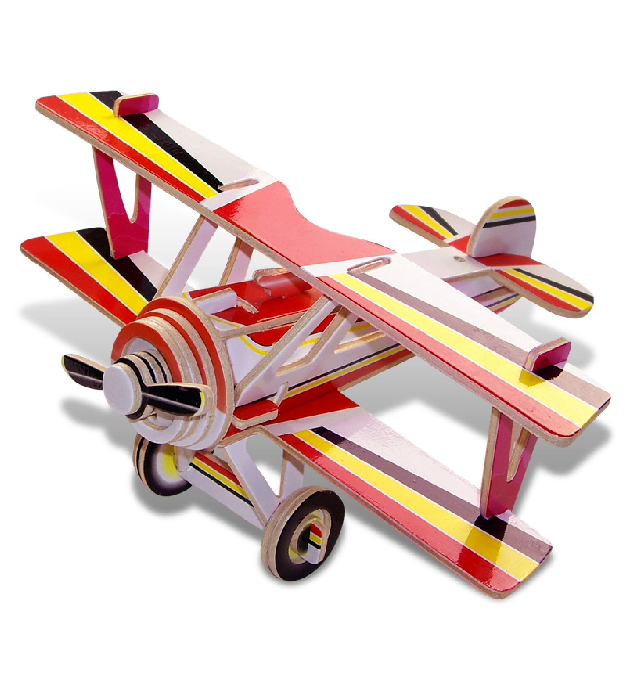 Puzzled Pre-Colord 3D Puzzles Nieuport 17