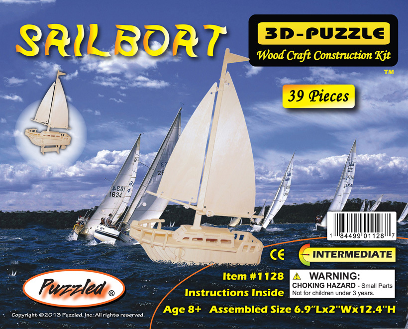 Images of 3D Puzzles Sailboat