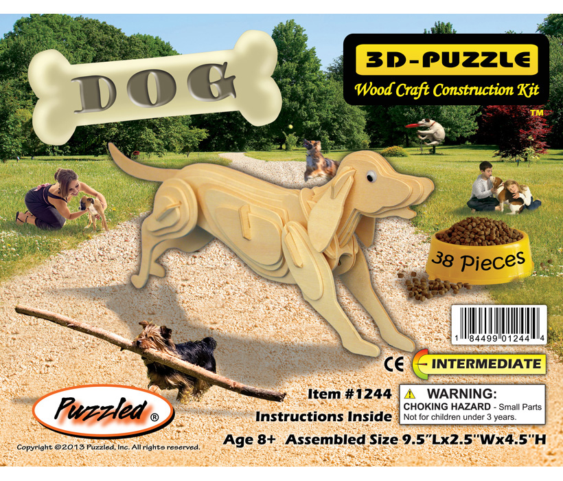 Images of 3D Puzzles Dog