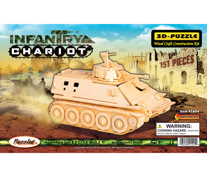 Images of 3D Puzzles Infantry Chariot Tank
