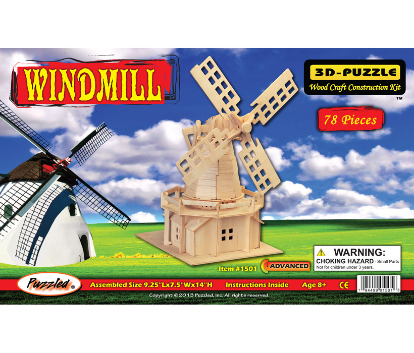 Images of 3D Puzzles Windmill