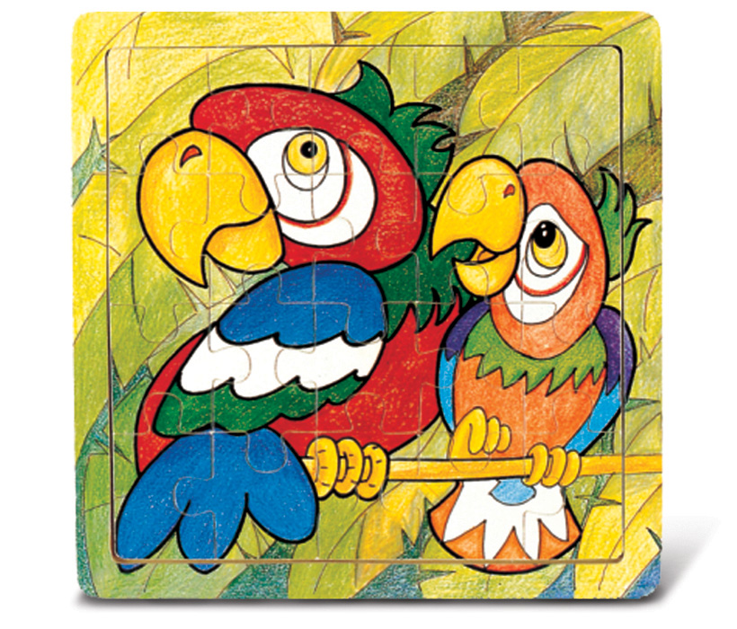 Images of Jigsaw Parrot
