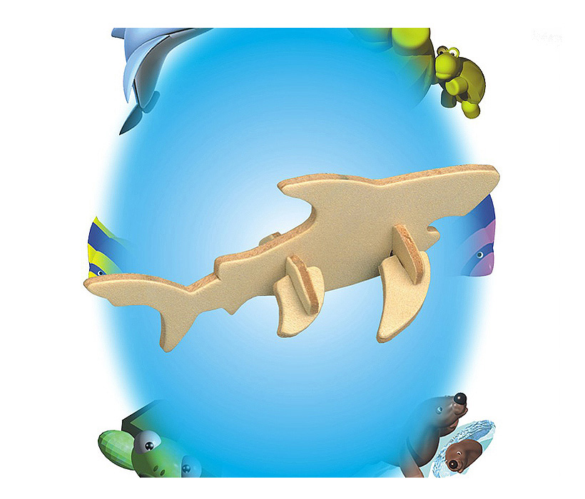 Images of Mini 3D Puzzles Shark
