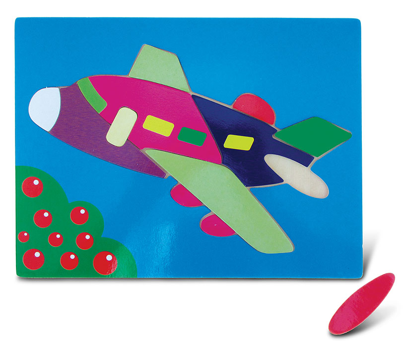 Images of Fun Puzzle Jetliner
