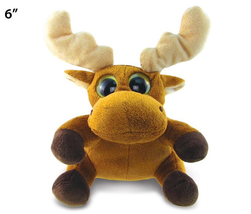 Images of Big Eye 6 inches Plush Moose