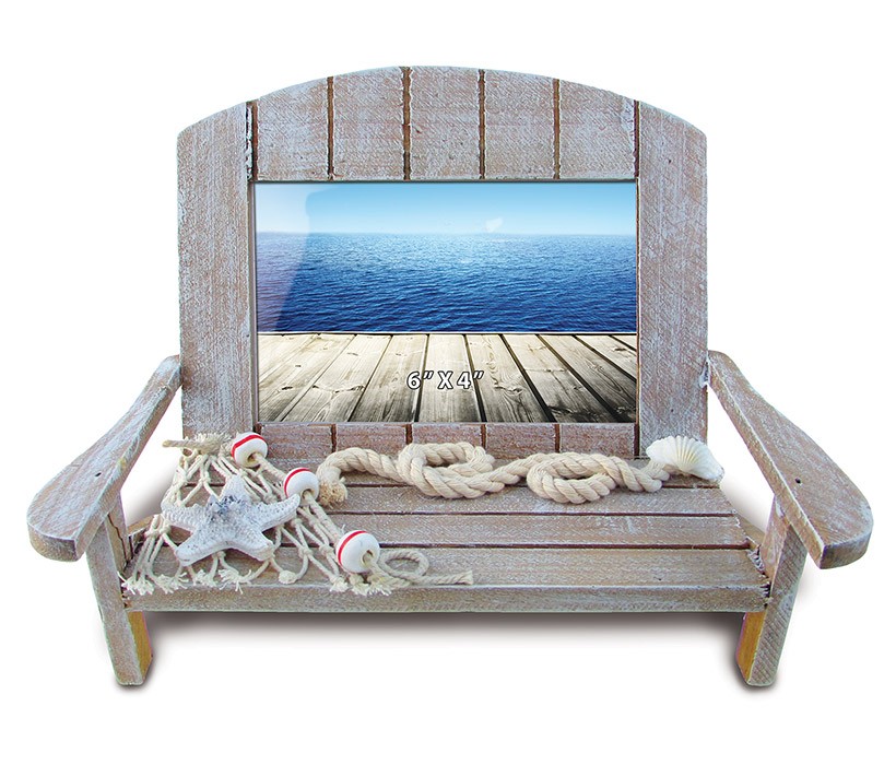 Images of Nautical Decor - Brown Chair Frame